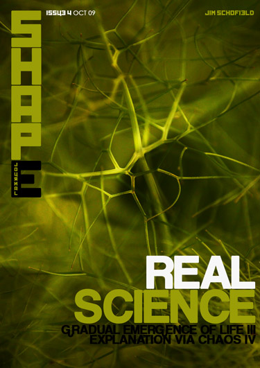 Issue 4 Real Science Bank Crash Gradual Emergence of Life