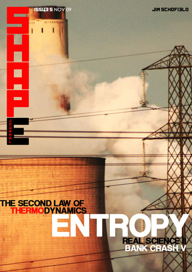 Issue 5 The Second Law of Thermodynamics Real Science and Bank Crash continued
